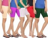 Rham Solid Girls Multicolor Tights