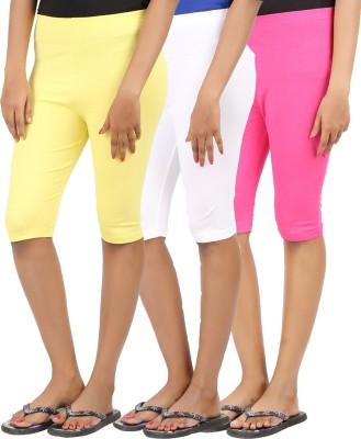 CHECKERSBAY Solid Women's Half length Tights