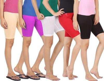 Rham Solid Girl's Short Length Tights