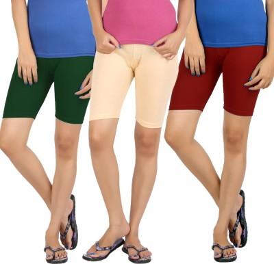 Rham Solid Girl's Shorts Tights