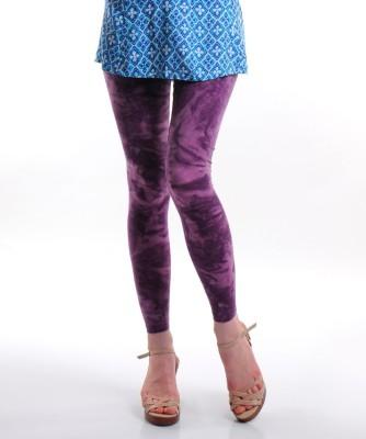 Femmora Geometric Print Girl's Full Length Tights