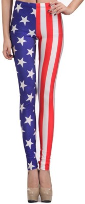 Fashion Berg Printed Girl's Full Length Tights