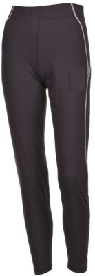 Quechua Solid Girl's Full Length Tights