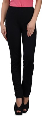 Finesse Solid Women's Full Length Tights