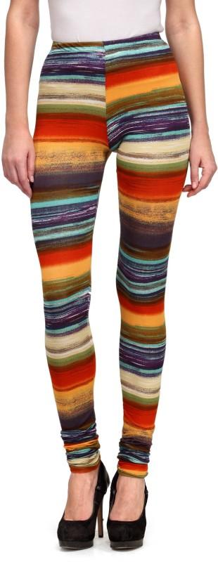 Flippd Self Design Women's Multicolor Tights