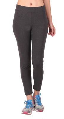 Vector X Solid Girl's Full Length Tights