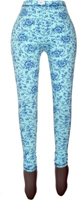 Revinfashions Floral Print Women,s Full Length Tights