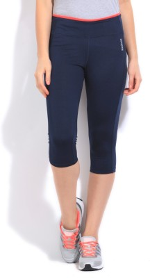 Reebok Solid Girl's Tight