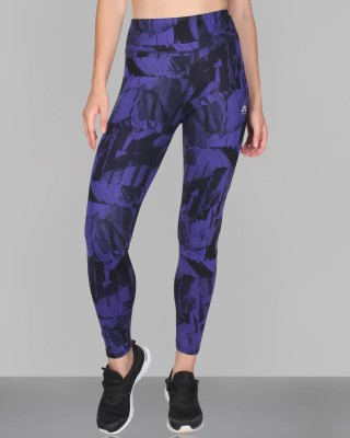 CREEZ Printed Women,s Mountain Valley Full Length Sports Tights
