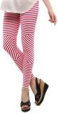 Femmora Striped Women's Pink Tights