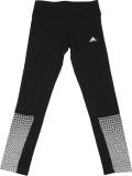Adidas Printed Girl's White Tights