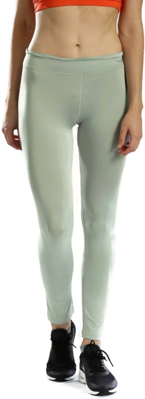 HRX by Hrithik Roshan Solid Women's Grey Tights