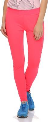Clovia Solid Women's Pink Tights at flipkart