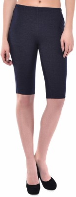Finesse Solid Women's 20 Inches Tights