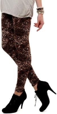 Femmora Animal Print Women's Full Length Tights
