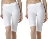 Fashion Line Solid Girls White Tights
