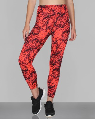 CREEZ Printed Women,s Inked Print Full Length Sports Tights