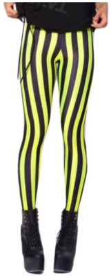 Fashion Berg Striped Women's Full Length Tights