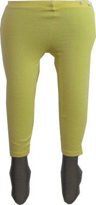 Revinfashions Solid Women's 3/4 length Tights