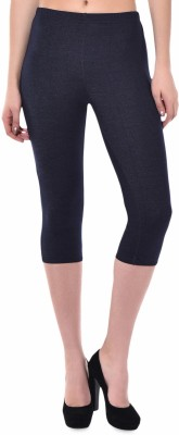 Finesse Solid Women's 26 Inches Tights