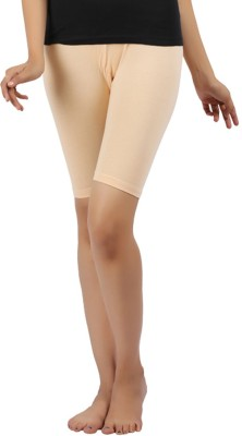 Rham Gold Solid Girl's Shorts Tights
