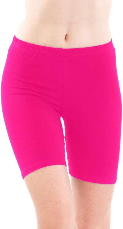 Fashion Line Solid Women's Pink Tights