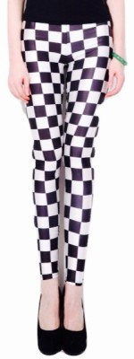 Fashion Berg Checkered Women's Full Length Tights