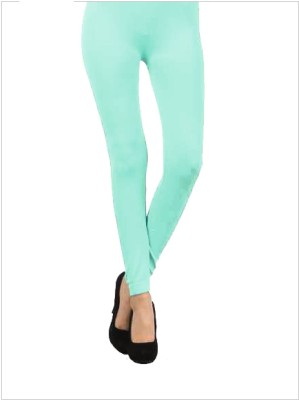 Anuja Trends Solid Women's Leggings Tights