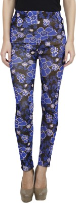 Camey Floral Print Women's Full Tights