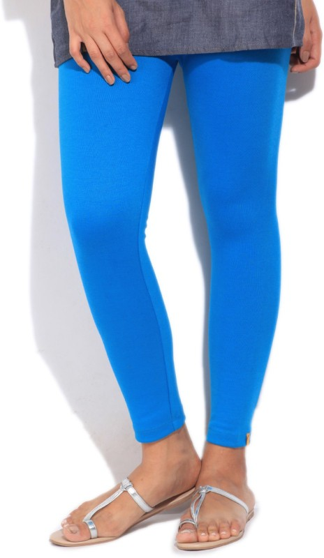 Aurelia Solid Women's Blue Tight