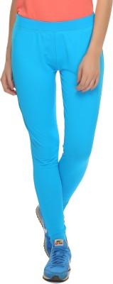 Clovia Solid Women's Blue Tights at flipkart