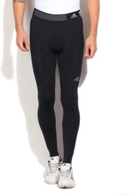 Adidas Solid Men's Full Length Tight