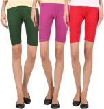 Rham Solid Women's Multicolor Tights