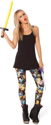 Fashion Berg Printed Women's Full Length Tights