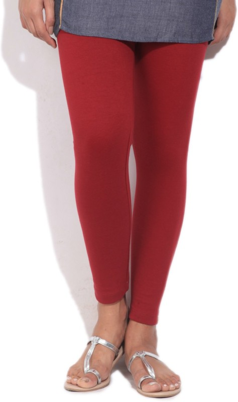 Aurelia Solid Women's Maroon Tight