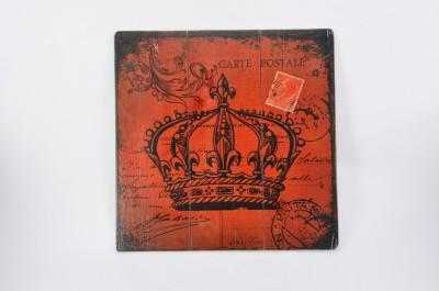 Scrafts Queen Crown Red 40*40 Sign(1)