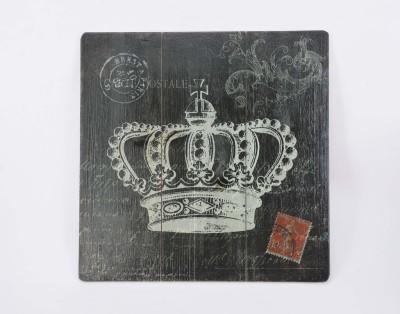 Scrafts Queen Crown Black 40*40 Sign(1)