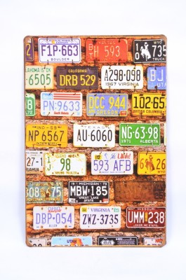 Scrafts Number Plates 30*20(Hbcm) Sign
