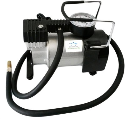 Dressrosa 150 psi Tyre Air Pump for Car & Bike
