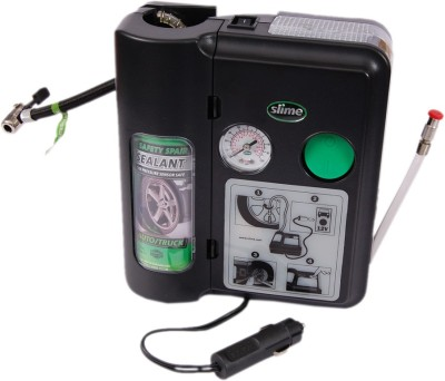 Slime 100 psi Tyre Air Pump for Car & Bike