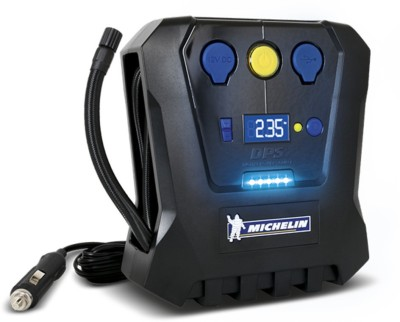 Michelin 12266 High Power Rapid Tyre Inflator (Black/Blue) Compact Air Pumps