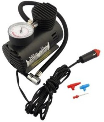 JSS Exports 300 psi Tyre Air Pump for Car & Bike