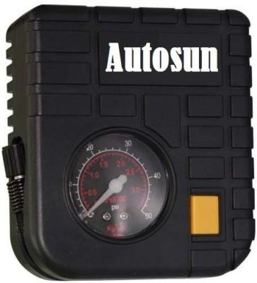 AutoSun 80 psi Tyre Air Pump for Car & Bike