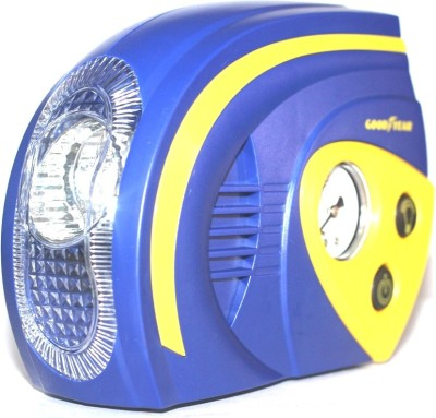 Goodyear 120 psi Tyre Air Pump for Car & Bike