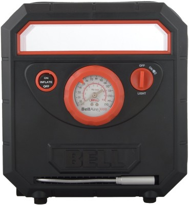 Bell 150 psi Tyre Air Pump for Car & Bike