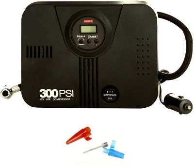 Coido 100 PSI Tyre Air Pump for Car & Bike