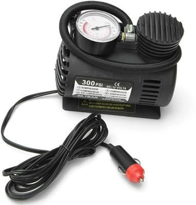 Shopo 300 psi Tyre Air Pump for Car & Bike