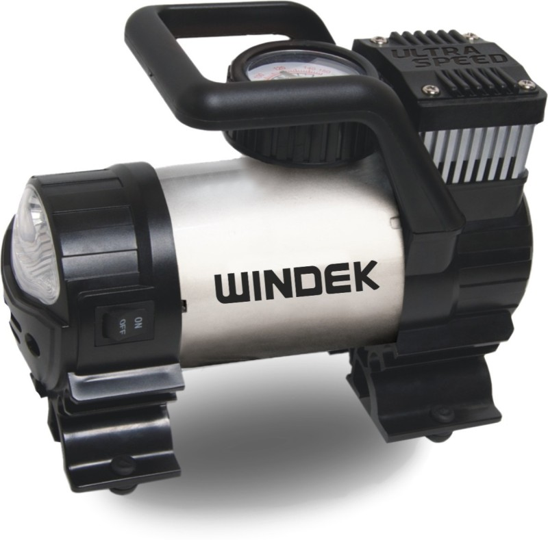 Windek 300 psi Tyre Air Pump for Car & Bike
