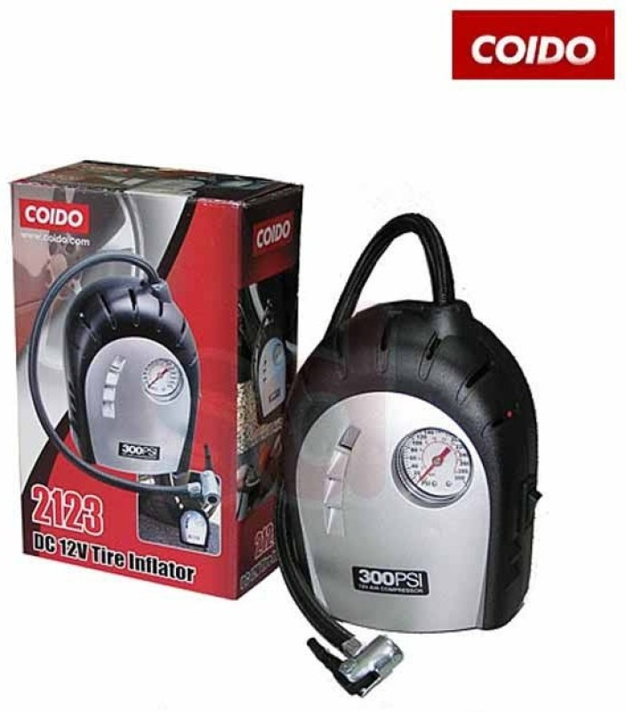Coido 300 psi Tyre Air Pump for Car & Bike
