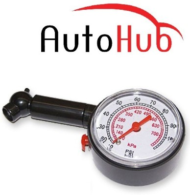 Auto Hub Analog Tire Pressure Gauge TPG 02